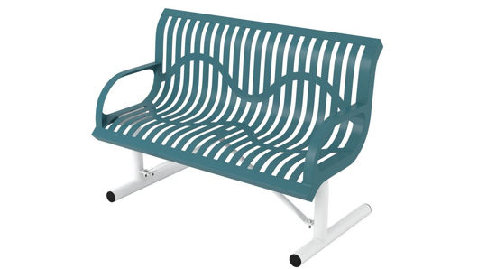 Picture of 4 ft. Classic Wingline Portable Bench w/ Back