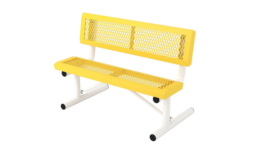 Picture of 4 ft. Infinity Portable Bench w/ Back