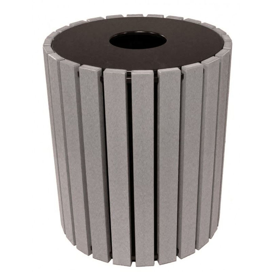 Picture of 49-gallon Round Plastic Receptacle