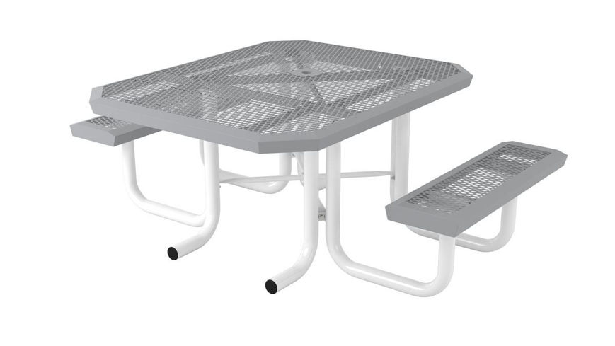 Picture of 46 in. Square Infinity Portable Heavy Table - 2 Seat ADA