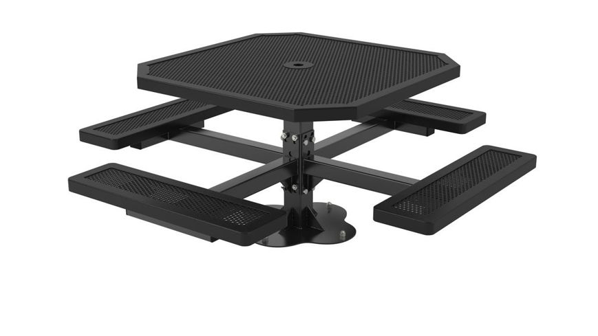 Picture of 46 in. Octagonal Innovated Pedestal Surface Mount Table