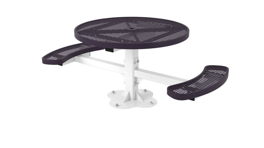 Picture of 46 ft. ft. Regal Style Round Table Portable Design Surface Mount