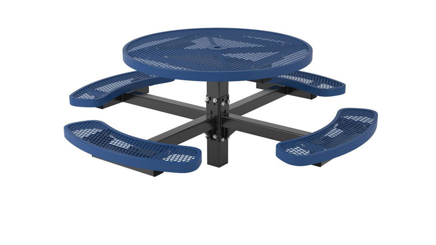 Picture of 46 ft. ft. Regal Style Round Pedestal Table In Ground Mount
