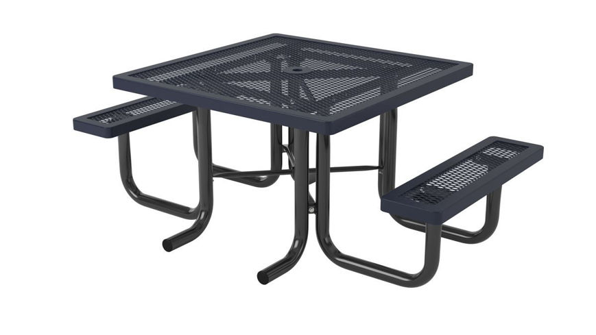 Picture of 46 in. Square Regal Portable Heavy Table - 2 Seat