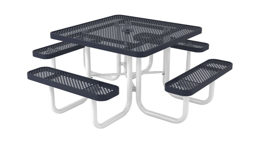 Picture of 46 in. Square Ultra Leisure Perforated Style Table Portable