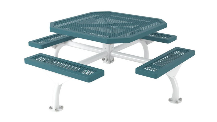 Picture of 46 in. Octagonal Regal Web Portable/Surface Mount Table