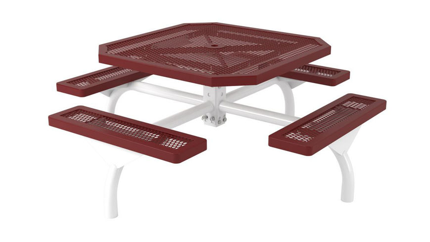 Picture of 46 in. Octagonal Regal Web In Ground Table