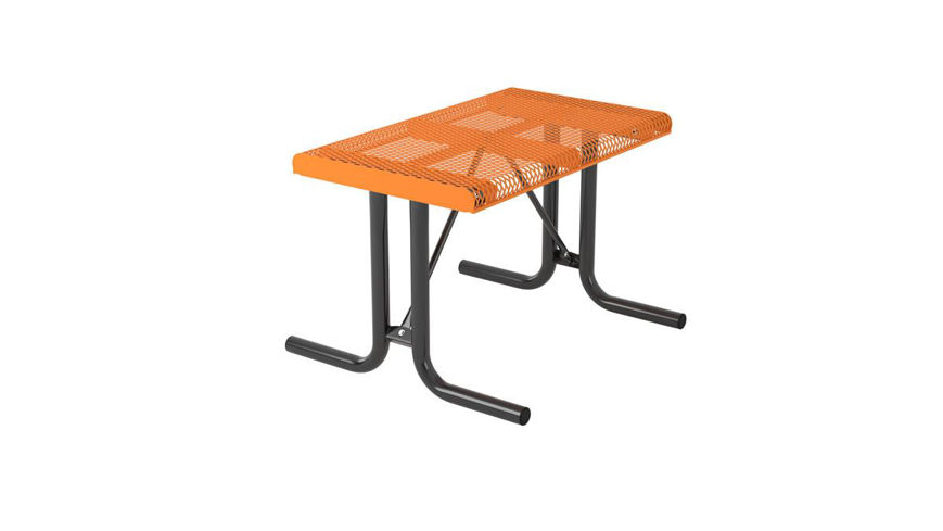 Picture of 4ft. Rolled Style Rectangular Portable Table