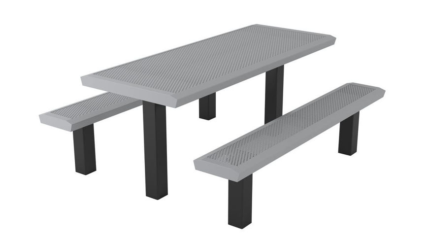 Picture of 6 ft. Infinity Style Innovated Pedestal Table In Ground Mount
