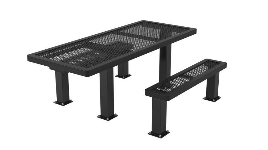 Picture of 6 ft. Regal Style Handicap Table Surface Mount Pedestal