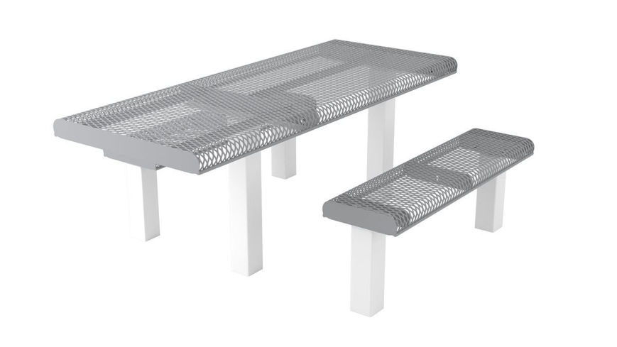 Picture of 6 ft. Roll Ped ADA 4x4 Table In Ground Mount