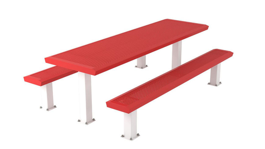 Picture of 8 ft. Infinity Innovated 4x4 Table Surface Mount