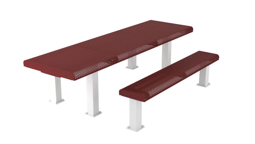 Picture of 8 ft. Innovated Roll ADA 4x4 Table Surface Mount
