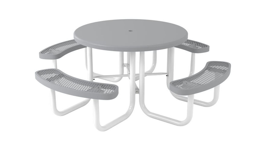 Picture of 46 in. Round Solid Top Table Portable