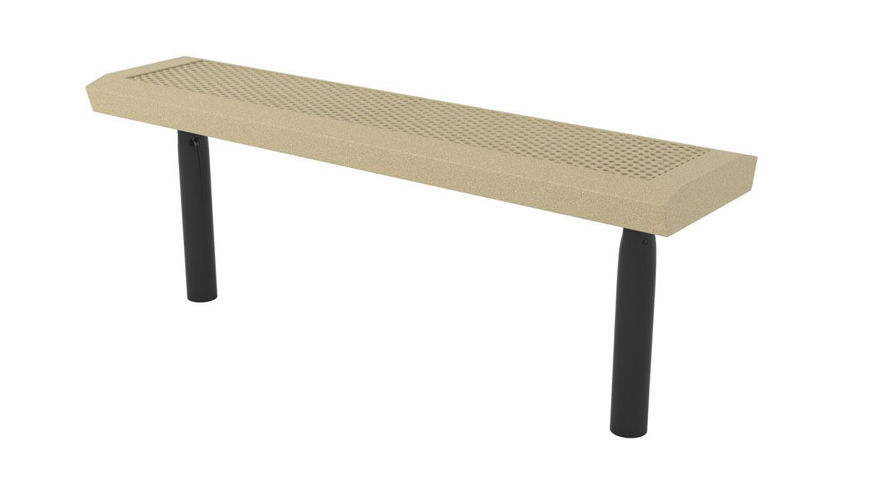 Picture of 4ft. Infinity Innovated Style Bench In Ground Mount Design