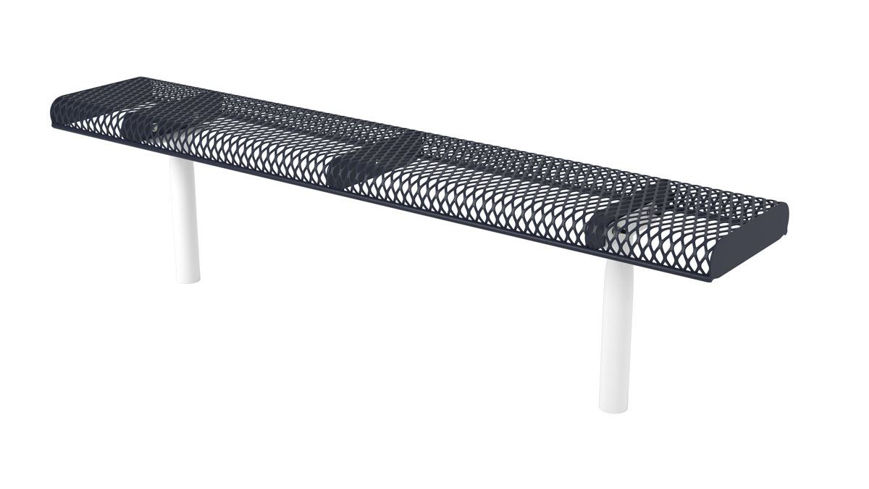 Picture of 6ft. Rolled Edge Bench In Ground Mount