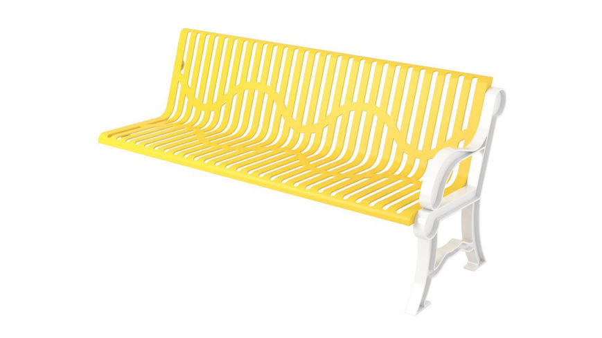 Picture of 6 ft. Classic Portable Bench Add on w/ Back