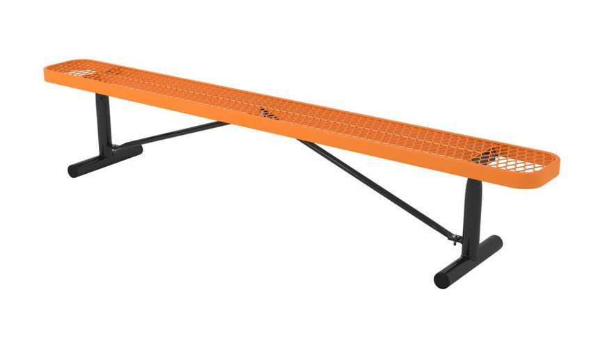 Picture of 8ft. L Series Rectangular Bench Portable