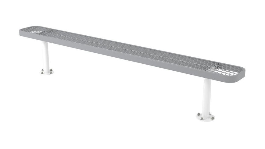 Picture of 8ft. L Series Rectangular Bench Surface Mount