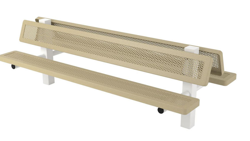 Picture of 8ft. Innovated Style Bench Ground Mount