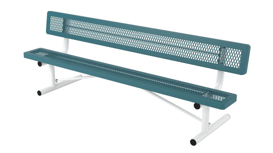 Picture of 8 ft. Regal Portable Bench w/ Back