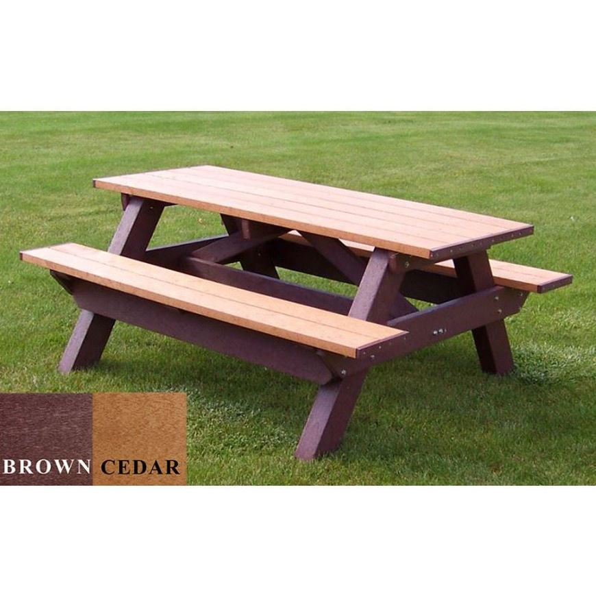 Picture of Deluxe 6' Picnic Plastic Table
