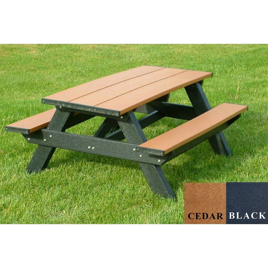 Picture of Standard 6' Picnic Plastic Table