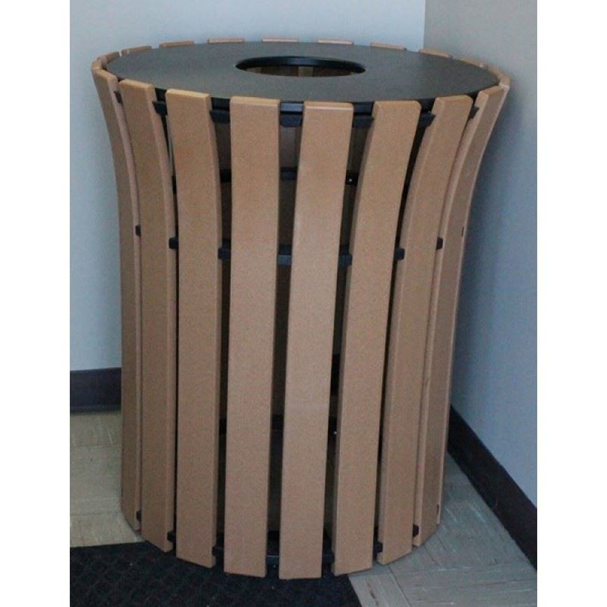 Picture of Flare Top 33-gallon Plastic Receptacle