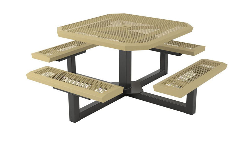 Picture of 46 ft. ft. Infinity Style Pedestal Table Portable Design
