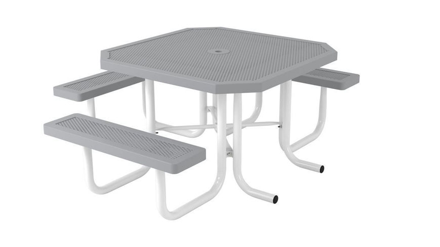 Picture of 46 ft. ft. Square Innovated Style 3 Seat Table Portable Design