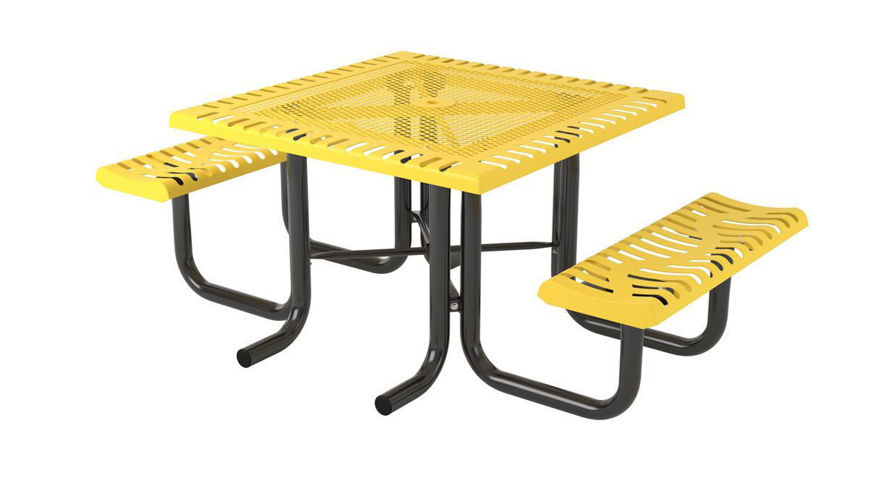 Picture of 46 in. Classic Heavy Portable Table - 2 Seats