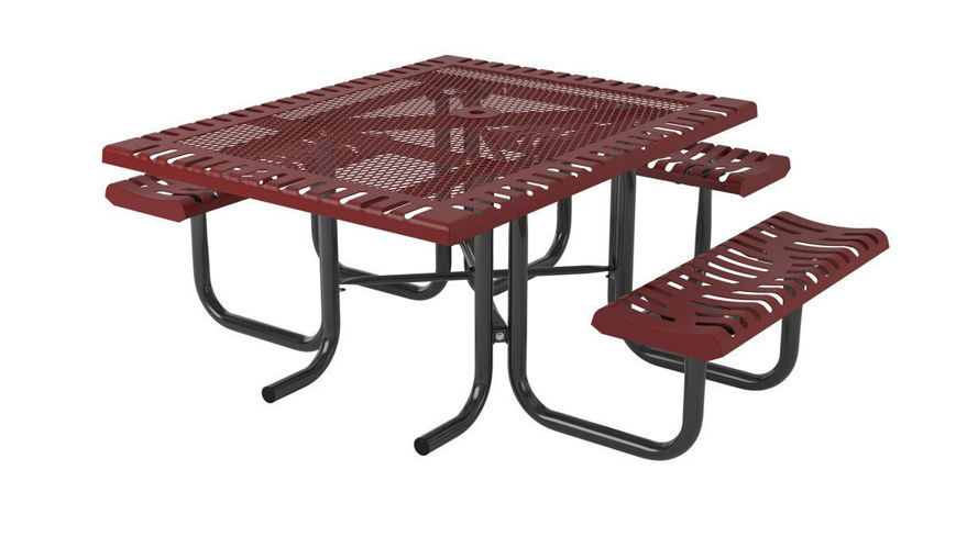Picture of 46 in. Classic Portable Table -3 Seats ADA
