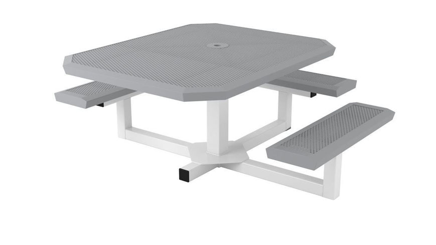 Picture of 46 in. Infinity Innovated ADA Ped Portable Table - 3 Seats