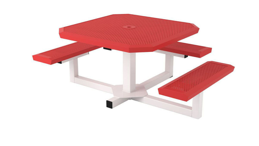 Picture of 46 in. Infinity Innovated Ped Table -3 seats
