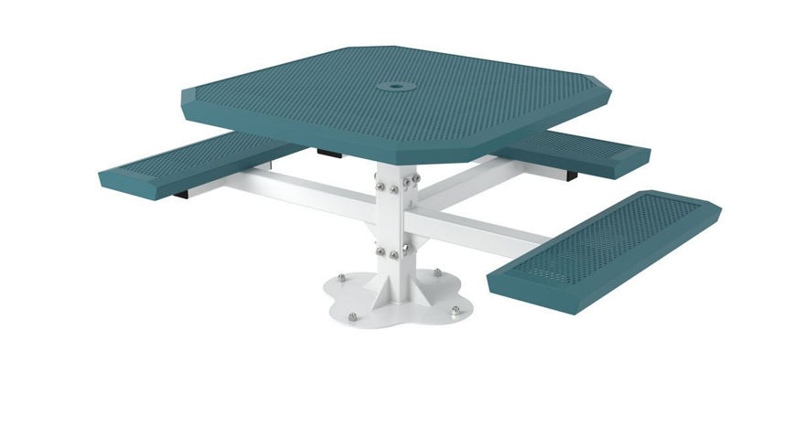 Picture of 46 in. Infinity Innovated Ped Table -3 seats Surface Mount