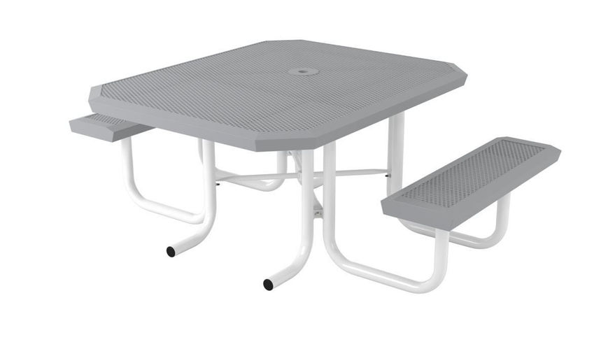 Picture of 46 in. Infinity Style Innovated 2 Seat Table Portable ADA