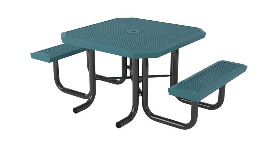 Picture of 46 in. Square Infinity Innovated Heavy Portable Table - 2 Seat