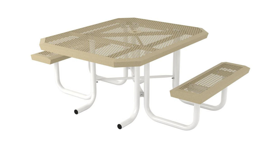 Picture of 46 in. Square Infinity Portable Table - 2 Seat ADA