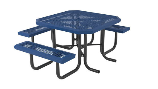 Picture of 46 in. Square Infinity Portable Table - 3 Seat