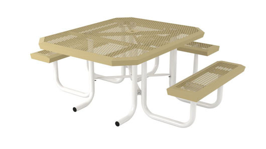Picture of 46 in. Square Infinity Portable Table - 3 Seat ADA